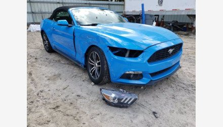 2017 Ford Mustang Convertible for sale 101468697