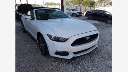 2017 Ford Mustang GT Convertible for sale 101493252