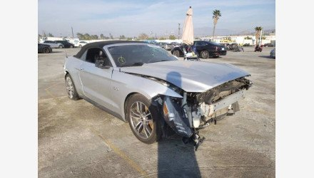 2017 Ford Mustang GT Convertible for sale 101503296