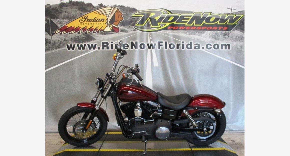 2017 Harley-Davidson Dyna Street Bob for sale 200627295