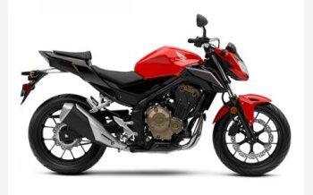 2017 Honda CB500F for sale 200532504