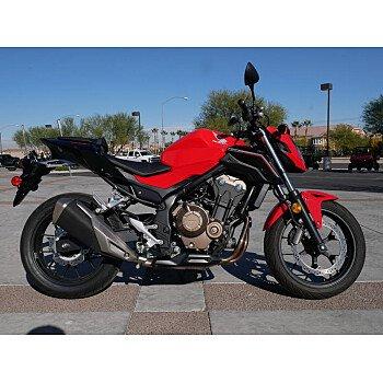 2017 Honda CB500F for sale 200656004