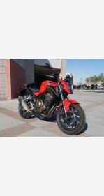 2017 Honda CB500F for sale 200656004