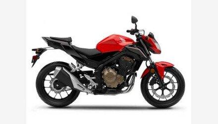 2017 Honda CB500F for sale 200703329