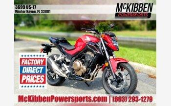 2017 Honda CB500F for sale 200898671