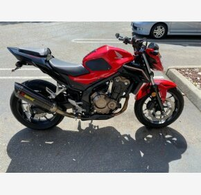 2017 Honda CB500F ABS for sale 200908785