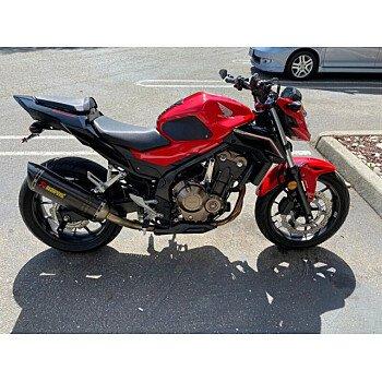 2017 Honda CB500F for sale 200908785