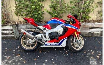 2017 Honda CBR1000RR SP2 for sale 201179088