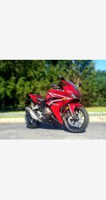 2017 Honda CBR500R for sale 200802802