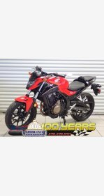 2017 Honda CBR500R for sale 200804707
