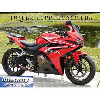 2017 Honda CBR500R for sale 201085948
