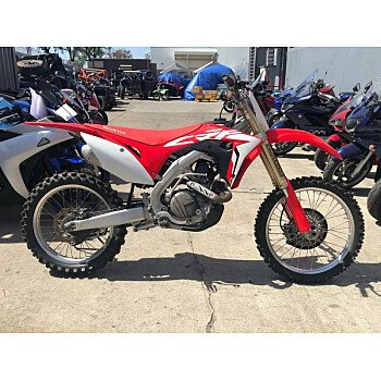 2017 Honda CRF450R for sale 200725685