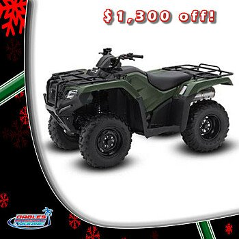 2017 Honda FourTrax Rancher 4x4 for sale 200546504