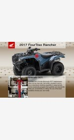 2017 Honda FourTrax Rancher for sale 200660743