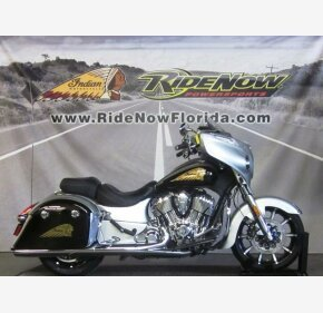2017 Indian Chieftain Limited w/ 19 Inch Wheels & ABS for sale 200732282