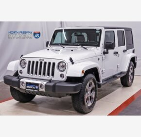 2017 Jeep Wrangler 4WD Unlimited Sahara for sale 101055087