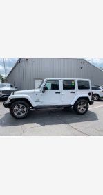 2017 Jeep Wrangler 4WD Unlimited Sahara for sale 101190777