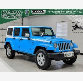 2017 Jeep Wrangler 4WD Unlimited Sahara for sale 101197642