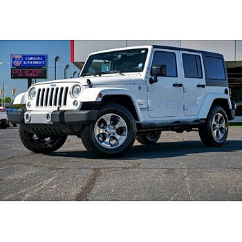 2017 Jeep Wrangler 4WD Unlimited Sahara for sale 101202098