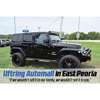 2017 Jeep Wrangler 4WD Unlimited Sahara for sale 101203401