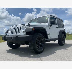 2017 Jeep Wrangler 4WD Sport for sale 101203633