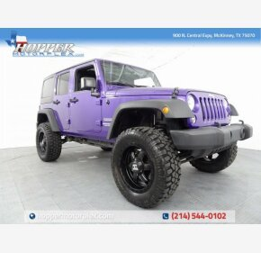 2017 Jeep Wrangler 4WD Unlimited Sport for sale 101207128