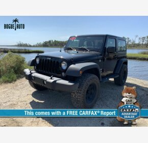 2017 Jeep Wrangler 4WD Sport for sale 101211768