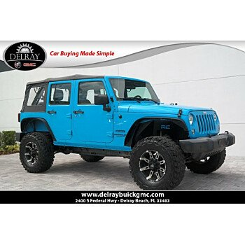 2017 Jeep Wrangler 4WD Unlimited Sport for sale 101215828