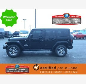 2017 Jeep Wrangler 4WD Unlimited Sahara for sale 101220107