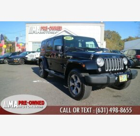 2017 Jeep Wrangler 4WD Unlimited Sahara for sale 101235060