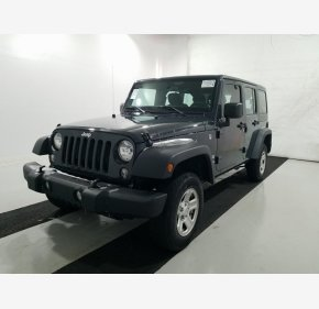 2017 Jeep Wrangler 4WD Unlimited Sport for sale 101238219
