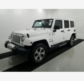 2017 Jeep Wrangler 4WD Unlimited Sahara for sale 101242657