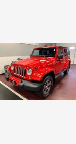 2017 Jeep Wrangler 4WD Unlimited Sahara for sale 101244051