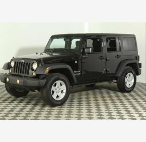 2017 Jeep Wrangler 4WD Unlimited Sport for sale 101252989