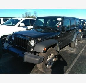 2017 Jeep Wrangler 4WD Unlimited Sport for sale 101253118