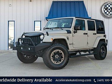 2017 Jeep Wrangler 4WD Unlimited Sahara for sale 101257970