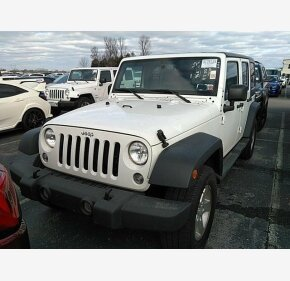 2017 Jeep Wrangler 4WD Unlimited Sport for sale 101259064