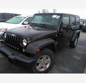 2017 Jeep Wrangler 4WD Unlimited Sport for sale 101260452