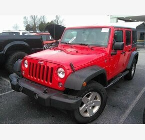 2017 Jeep Wrangler 4WD Unlimited Sport for sale 101265813