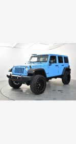 2017 Jeep Wrangler 4WD Unlimited Rubicon for sale 101269794