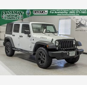 2017 Jeep Wrangler 4WD Unlimited Sport for sale 101271849