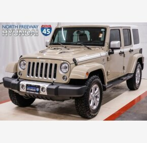 2017 Jeep Wrangler 4WD Unlimited Sahara for sale 101275820