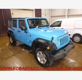 2017 Jeep Wrangler 4WD Unlimited Sport for sale 101277501