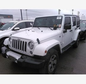2017 Jeep Wrangler 4WD Unlimited Sahara for sale 101283089