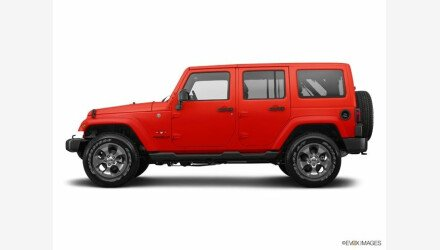 2017 Jeep Wrangler 4WD Unlimited Sahara for sale 101285126