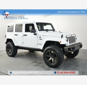 2017 Jeep Wrangler 4WD Unlimited Sahara for sale 101300044