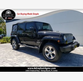 2017 Jeep Wrangler 4WD Unlimited Sahara for sale 101303146