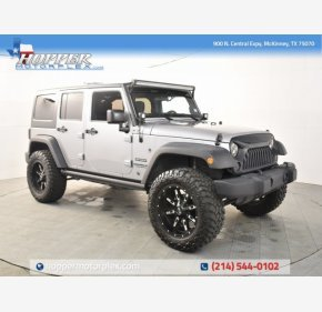 2017 Jeep Wrangler 4WD Unlimited Sport for sale 101307992