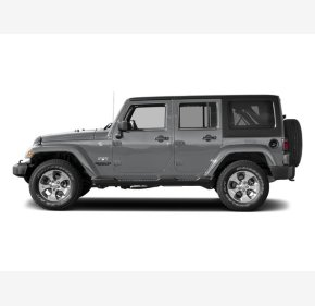 2017 Jeep Wrangler 4WD Unlimited Sahara for sale 101330367