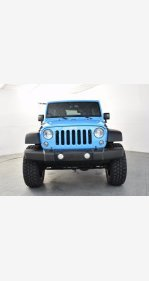2017 Jeep Wrangler for sale 101342389
